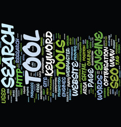 Free online seo tools text background word cloud vector