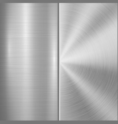 Metal technology background vector