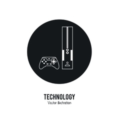 Video game icon internet of things design vector