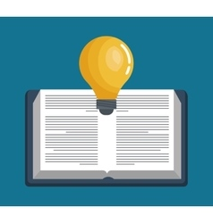 Reading thinking creative education online graphic vector