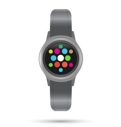 Smart Watches icon Smart gadget vector image vector image