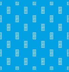 Steel door pattern seamless blue vector