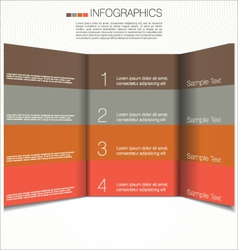 Modern design template vector image