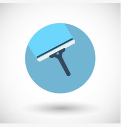 window scraper flat icon vector image