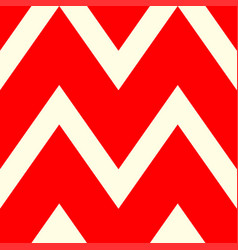A beautiful pattern of white and red lines vector