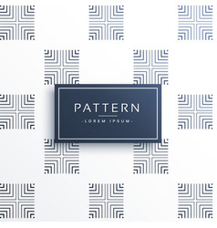 Abstract square lines pattern background vector