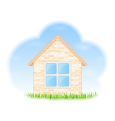 Dreams about house vector image vector image
