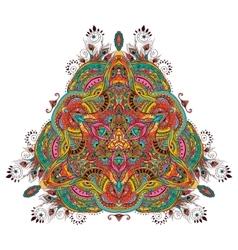Peacock mandala vector