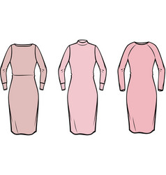 women dress vector image