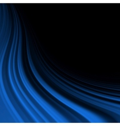 Abstract glow Twist with blue flow EPS 10 vector image