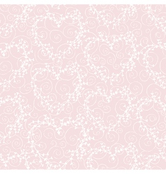 Seamless pattern with wreathes and swirles vector