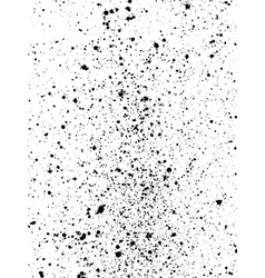 Graffiti paint splatter pattern in black on white vector