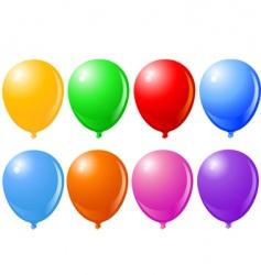 balloons balloons singles vector image vector image