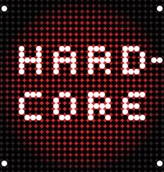 Hard rock dots vector