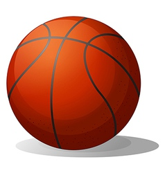 A basketball ball vector image