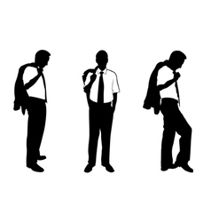 business men vector image vector image