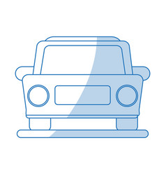 car icon design vector image vector image