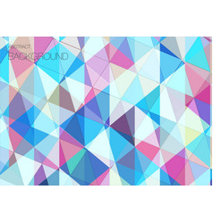 Cool abstract triangle geometric background vector
