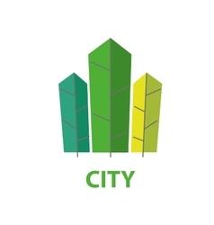 Logo city vector