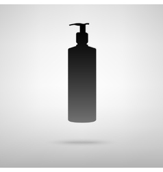 Soap black icon vector