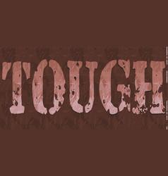 Tough vector