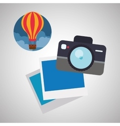 Travel design Trip icon Flat vector image