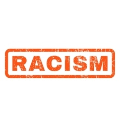 Racism rubber stamp vector