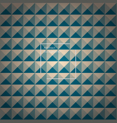 Yellow and green abstract pyramid background vector