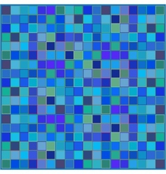 Blue squared background vector