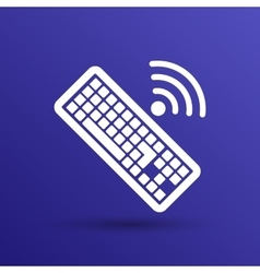 Computer keyboard key sign icon vector
