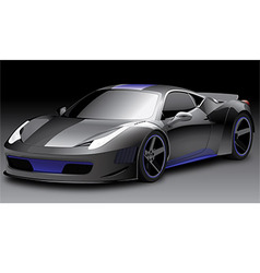 Sport car 1 of 3 vector