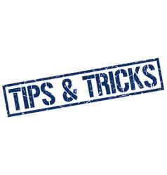 tips tricks stamp vector image