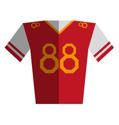 shirt clothe sport vector image