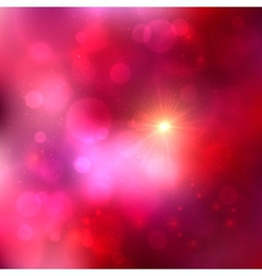 Bright pink abstract shining background vector