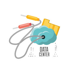 Cloud connection and data center information vector