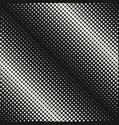 halftone seamless pattern circles diagonal rows vector image vector image