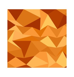 Sand dunes abstract low polygon background vector