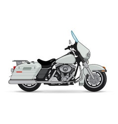 big motorcycle vector image