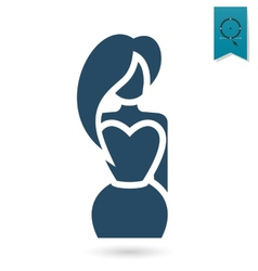 Womans day icon vector