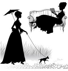 Ladies vector image