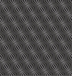 Seamless pattern geometric with circles vector