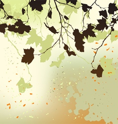 Autumn background ornament vector