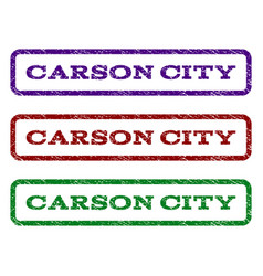 Carson city watermark stamp vector