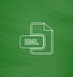 Eml computer symbol vector