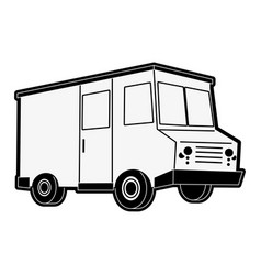 Food truck icon image vector