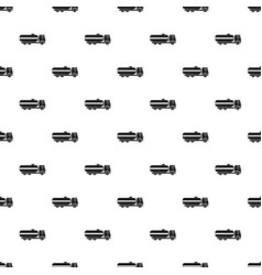 Fuel tanker truck pattern vector