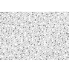 Grey glitter triangles mosaic technical background vector image vector image
