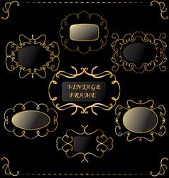 vintage-frame vector image