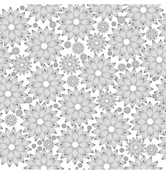 Seamless foral abstract vinyl ready vector image