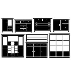 closet set vector image